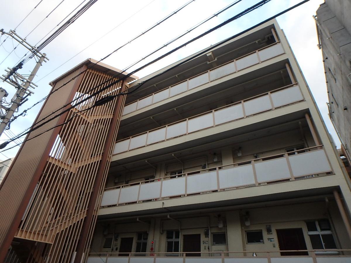 物件番号: 1123101029 ベルエアー六甲  神戸市灘区高徳町3丁目 1DK マンション 外観画像