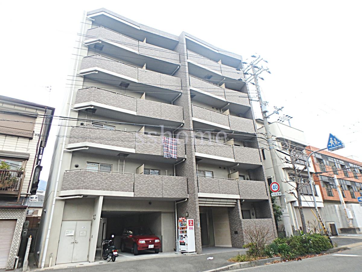 物件番号: 1123104913 レシェンテ六甲  神戸市灘区千旦通2丁目 1K マンション 外観画像