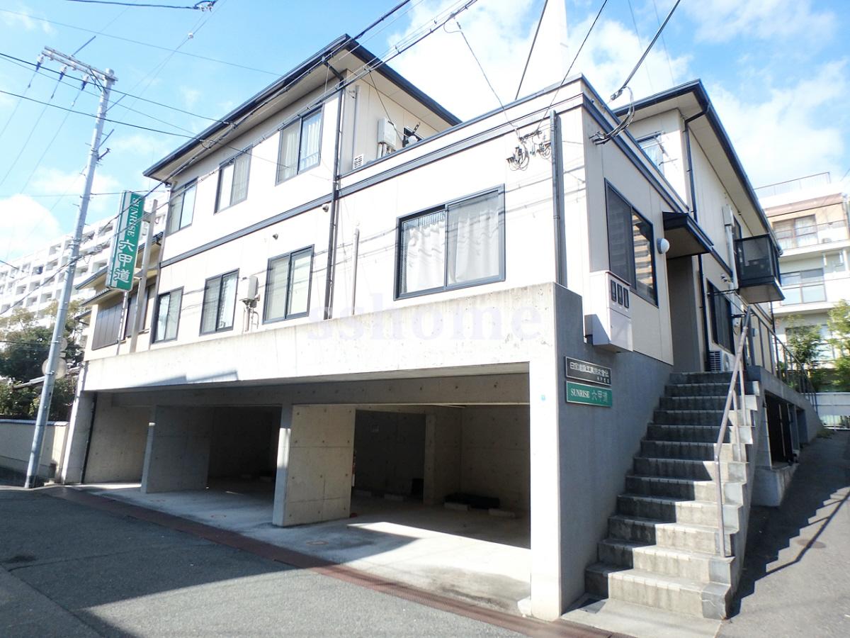 物件番号: 1123101499 サンライズ六甲道  神戸市灘区大和町4丁目 1R マンション 外観画像