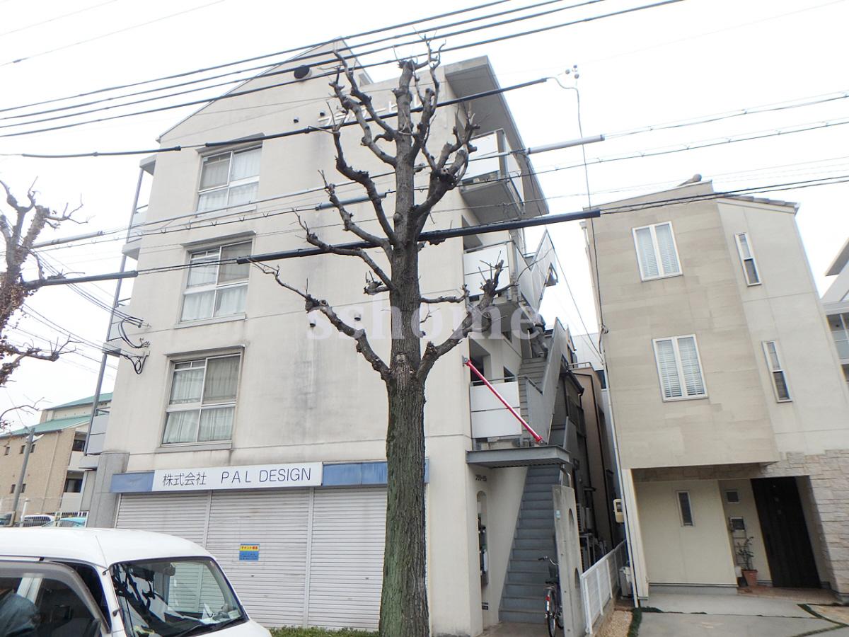 物件番号: 1123101329 フラワービル  神戸市灘区琵琶町3丁目 1K マンション 外観画像
