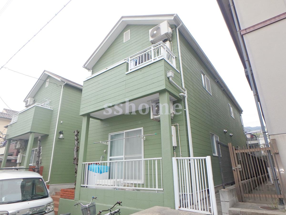 物件番号: 1123101655 六甲ガーデン  神戸市灘区高羽町2丁目 1R ハイツ 外観画像