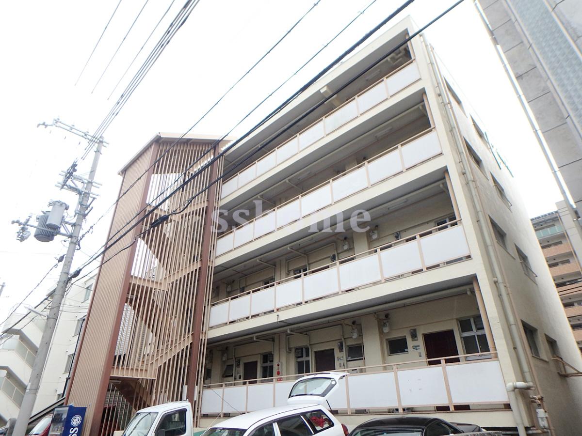 物件番号: 1123101783 ベルエアー六甲  神戸市灘区高徳町3丁目 1DK マンション 外観画像