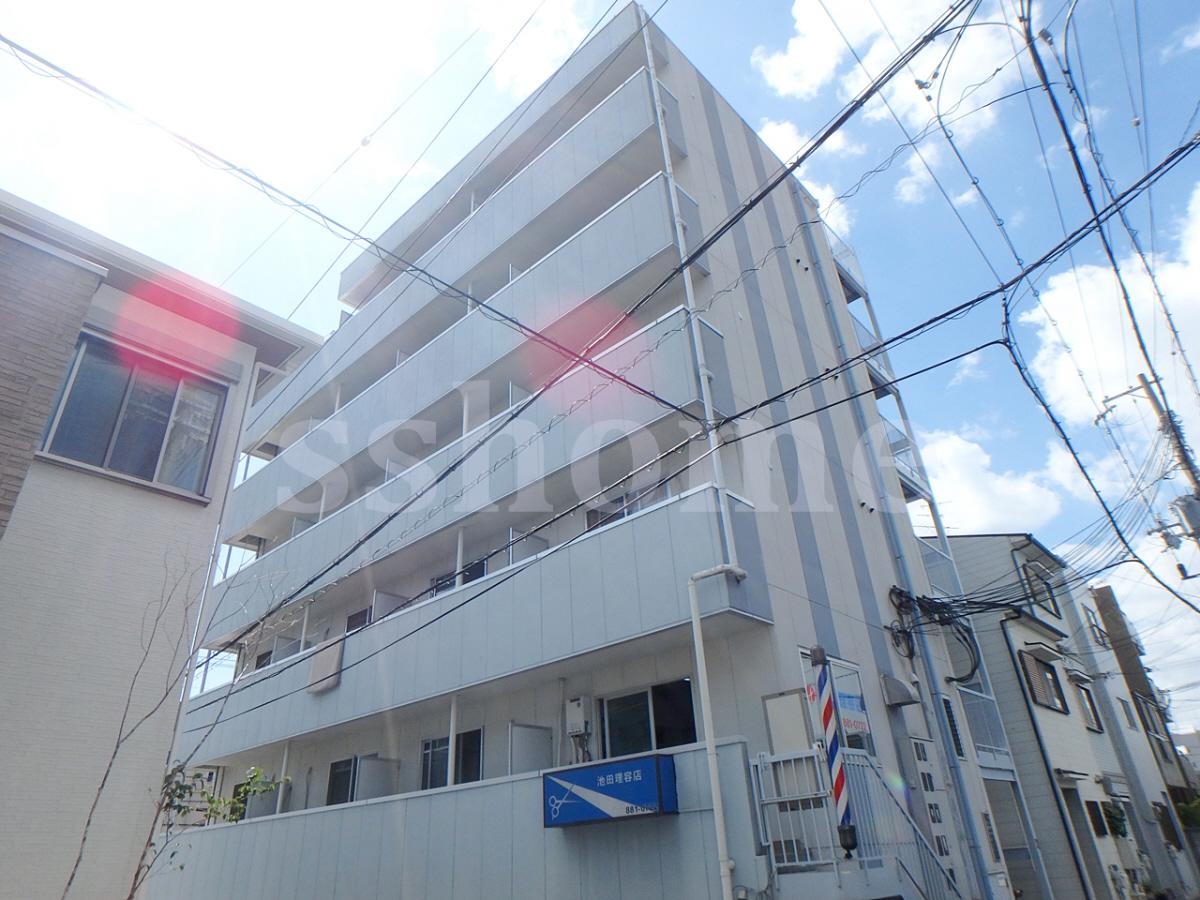 物件番号: 1123103053 ロイヤルイン六甲  神戸市灘区将軍通2丁目 1R マンション 外観画像