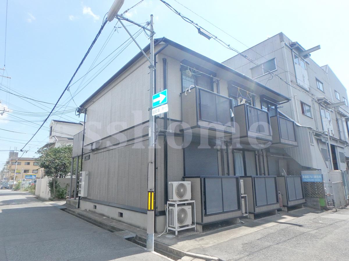 物件番号: 1123105893 西之町ハイツA  神戸市東灘区御影本町7丁目 1K アパート 外観画像