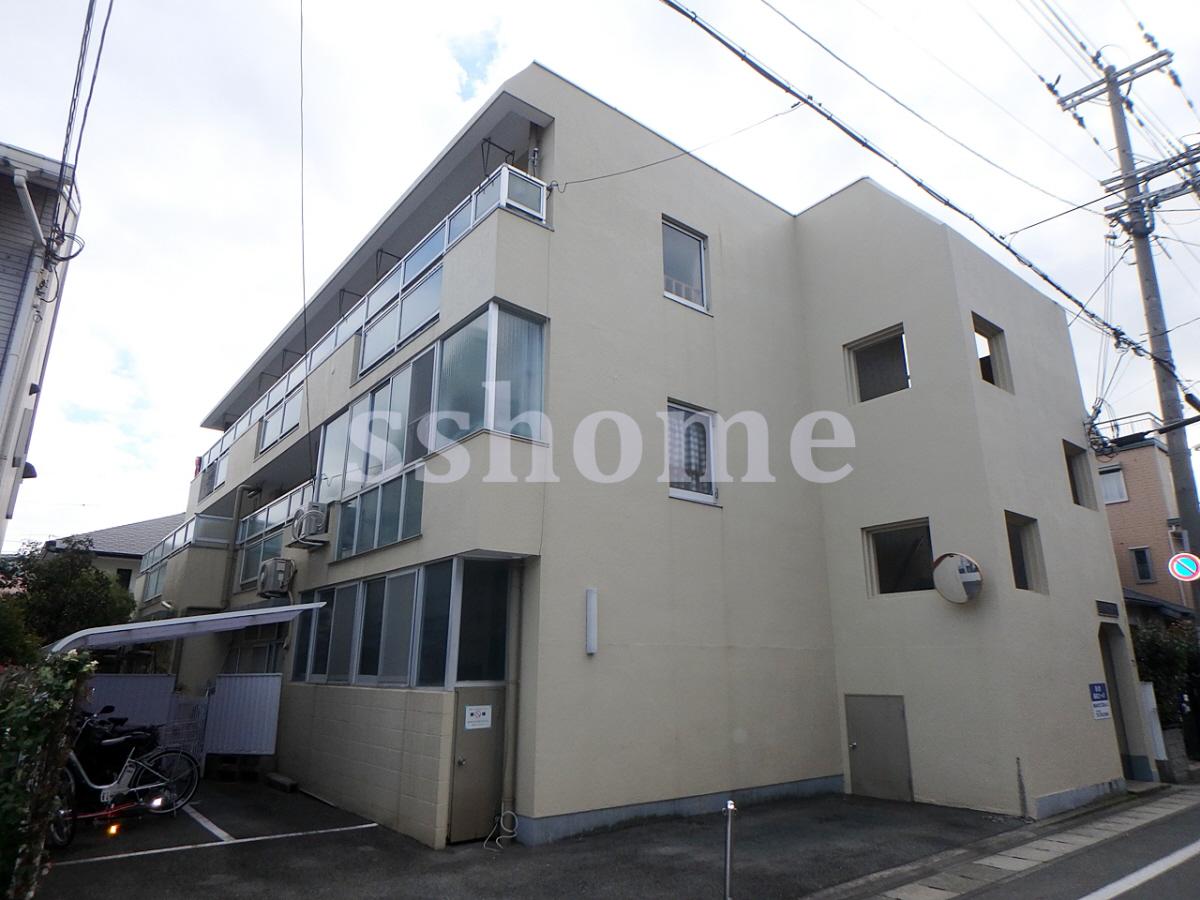物件番号: 1123102879 森南コーポ  神戸市東灘区森南町2丁目 2DK マンション 外観画像
