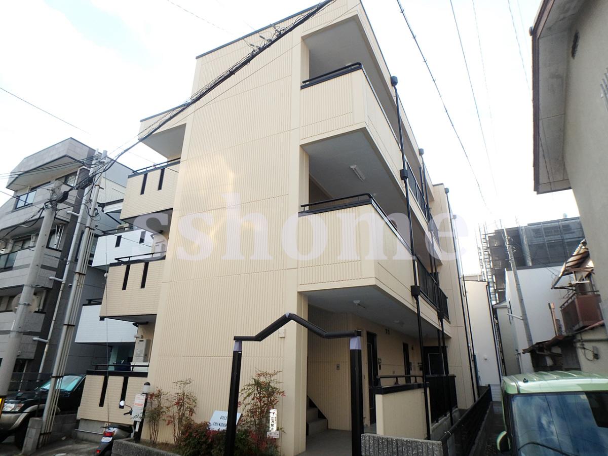 物件番号: 1123103535 Villa Shinohara  神戸市灘区篠原南町5丁目 1K マンション 外観画像