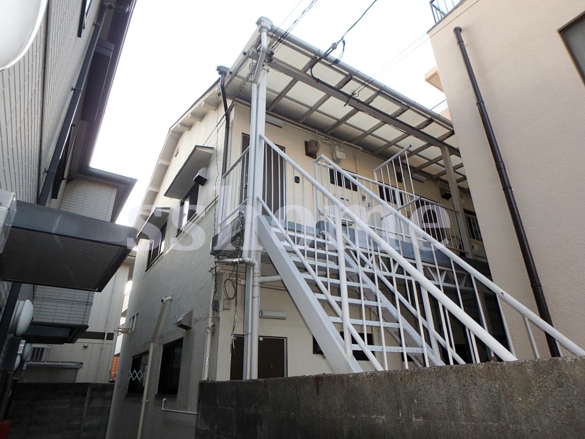 物件番号: 1123106608 前羽アパート  神戸市灘区城内通2丁目 1DK アパート 外観画像