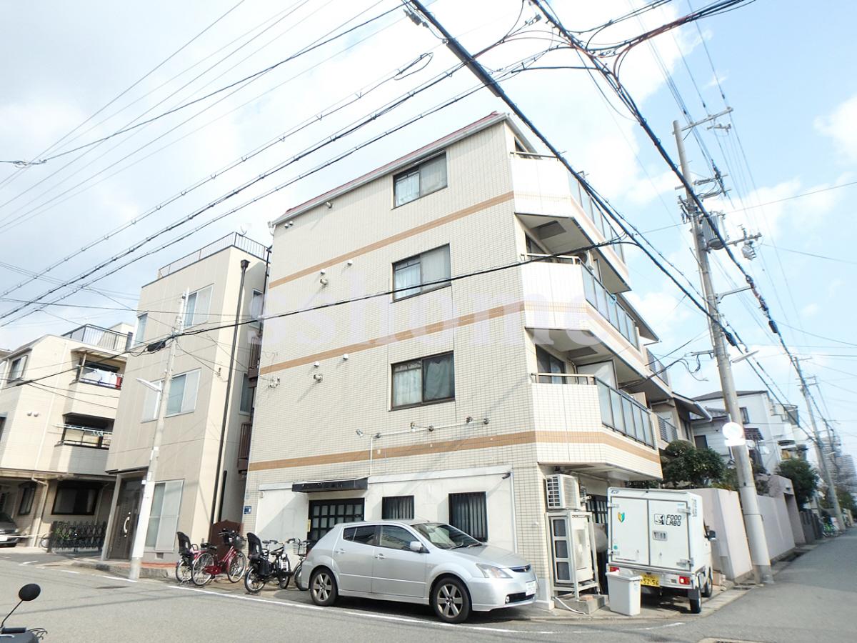 物件番号: 1123103852 ハイツモカ  神戸市灘区泉通2丁目 1K マンション 外観画像