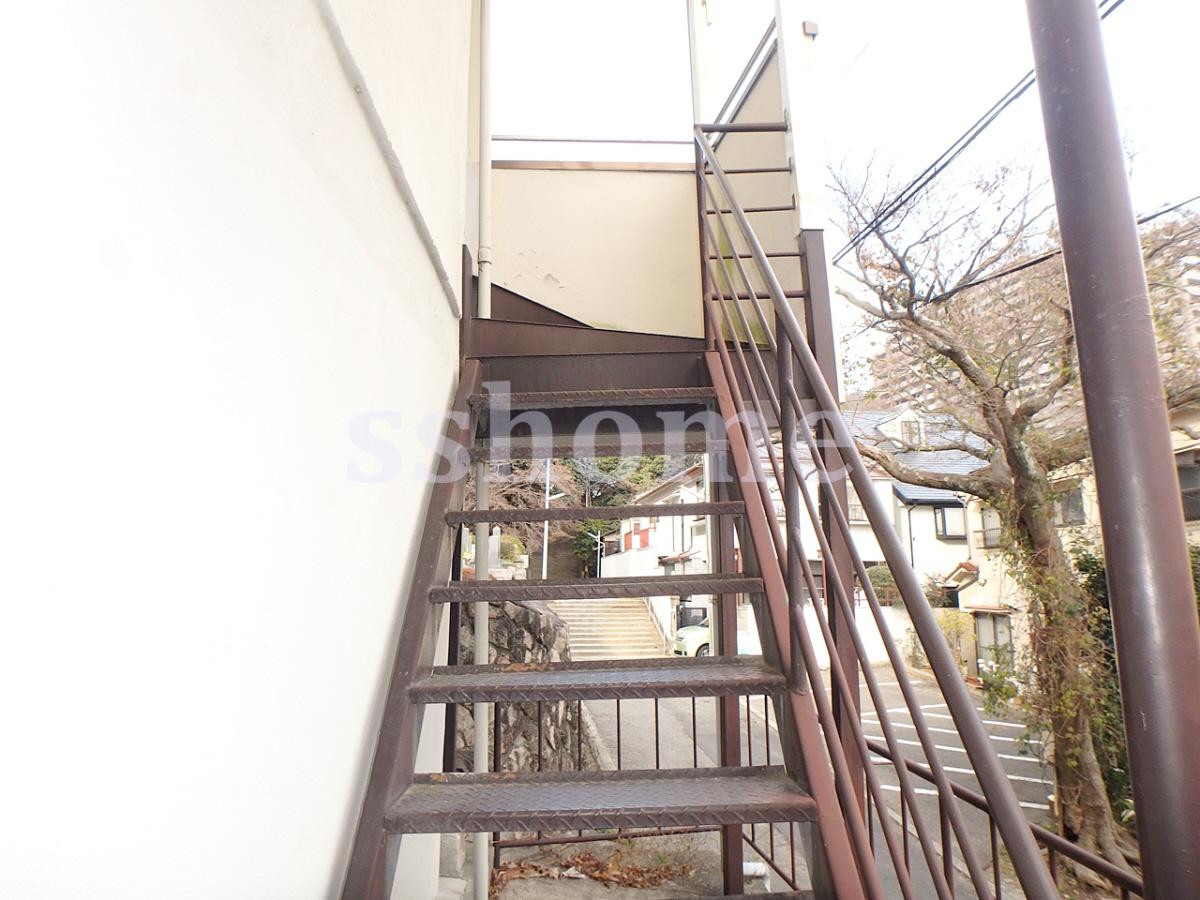 物件番号: 1123103853 土居アパート  神戸市灘区一王山町 1DK アパート 画像12