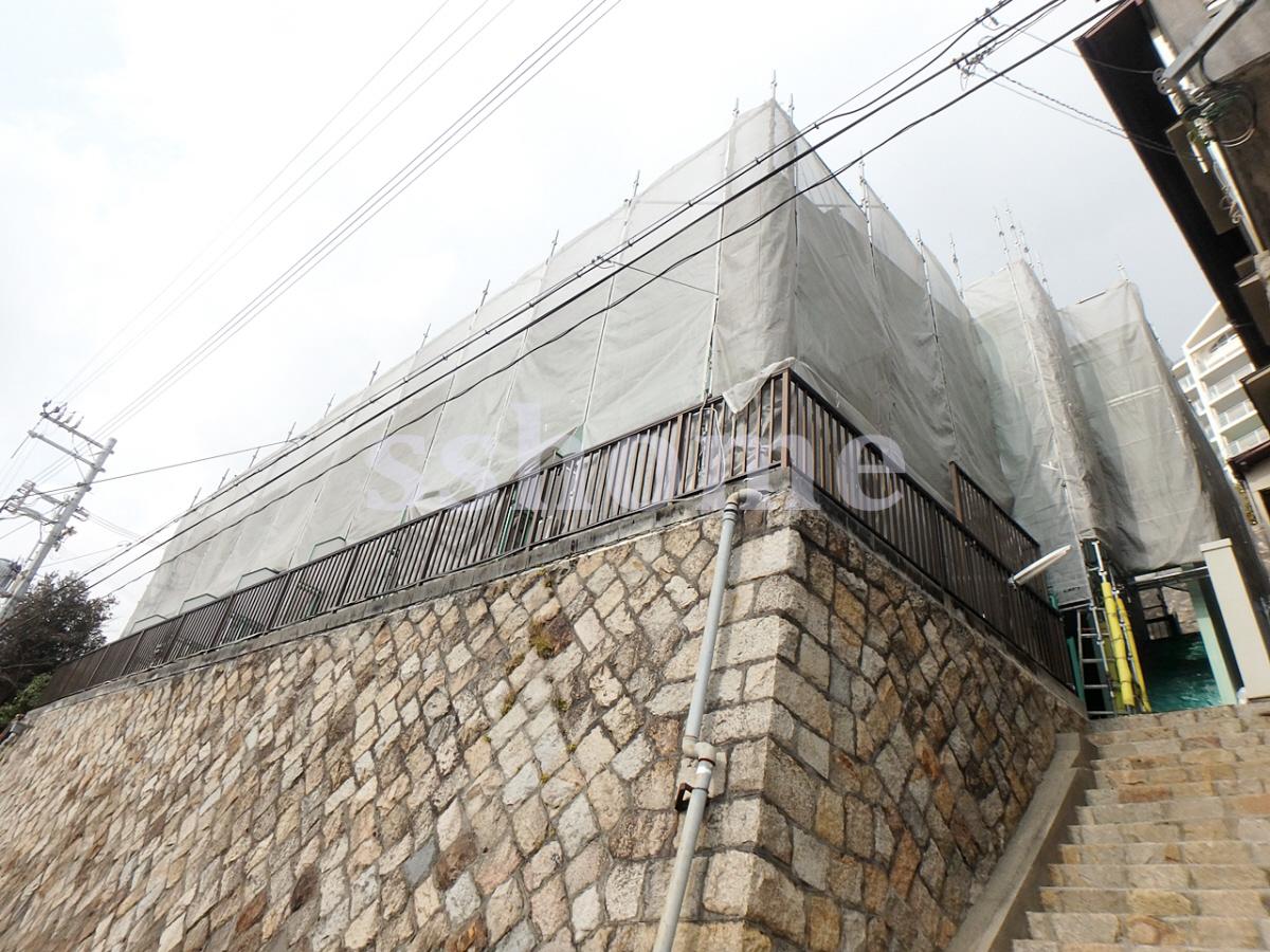 物件番号: 1123104122 大和テラス  神戸市灘区六甲台町 1DK ハイツ 外観画像
