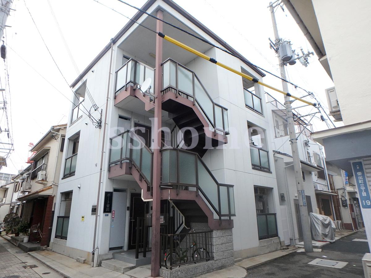 物件番号: 1123104127 ポート東出  神戸市兵庫区東出町3丁目 1R マンション 外観画像