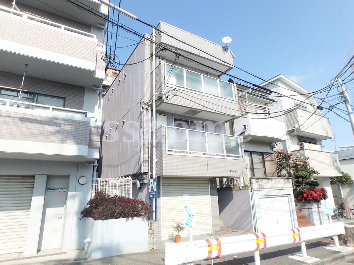 物件番号: 1123104235 ティ・オー上野  神戸市灘区上野通4丁目 1R マンション 外観画像