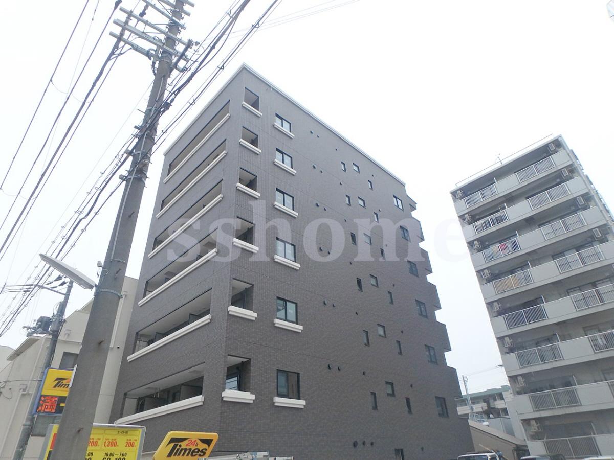 物件番号: 1123104525 GKレジデンス王子公園  神戸市灘区水道筋5丁目 1K マンション 外観画像