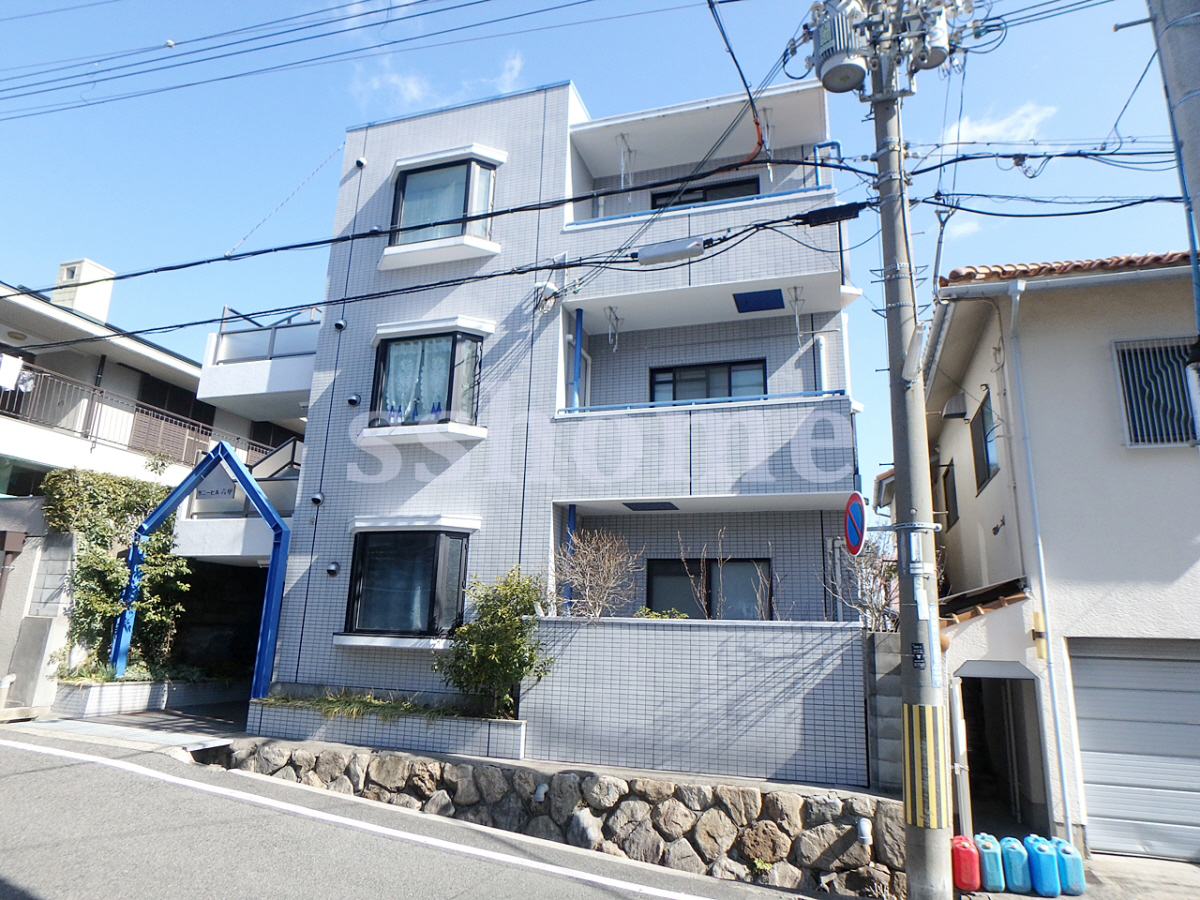 物件番号: 1123104591 サニーヒル六甲  神戸市灘区曾和町1丁目 1R マンション 外観画像