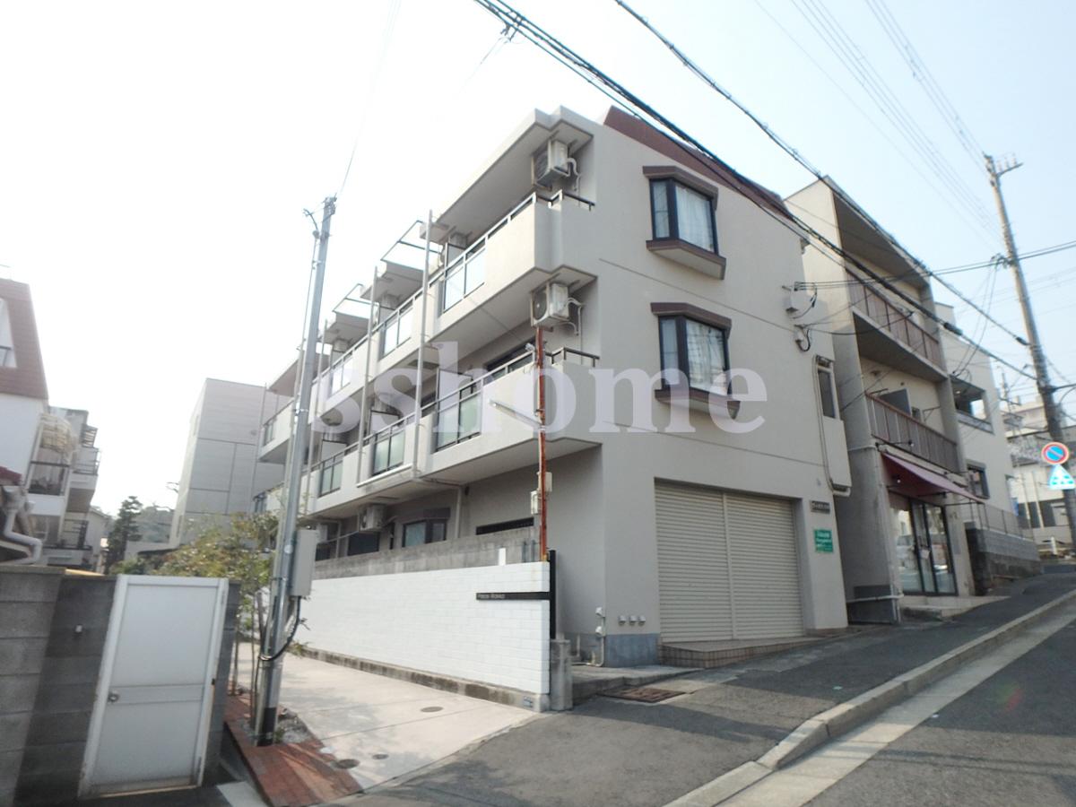 物件番号: 1123104702 ヴィオラ六甲  神戸市灘区八幡町2丁目 1K マンション 外観画像