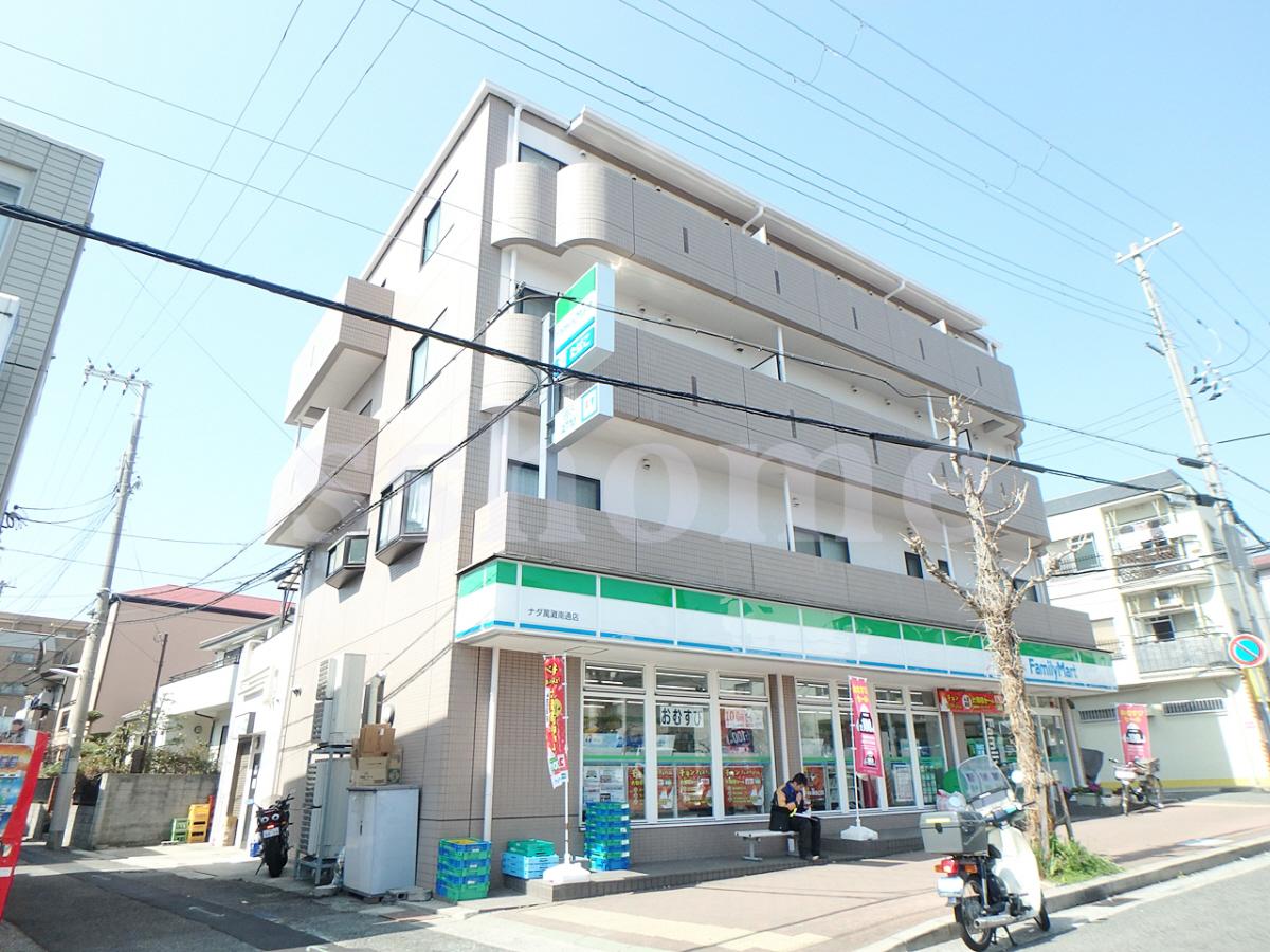 物件番号: 1123104962 メイツ摩耶  神戸市灘区灘南通4丁目 1DK マンション 外観画像