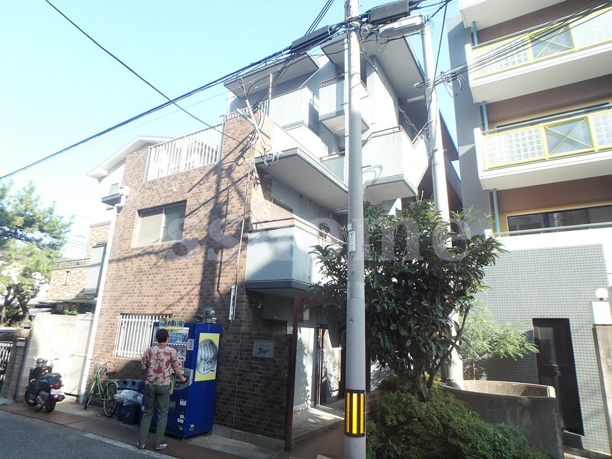 物件番号: 1123107872 パーソナルハイツ御影  神戸市東灘区御影中町1丁目 1DK マンション 外観画像