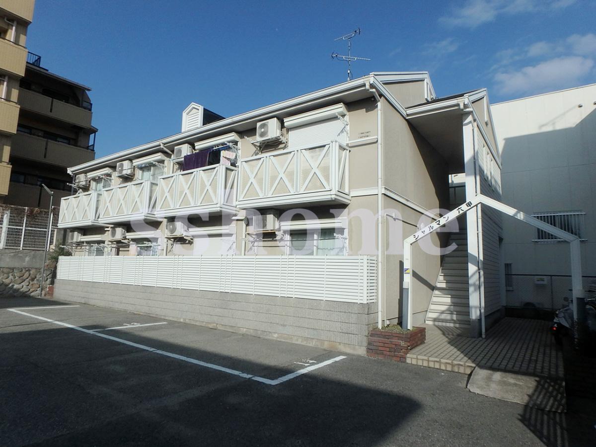 物件番号: 1123105045 シャルマン六甲  神戸市灘区篠原南町2丁目 1K ハイツ 外観画像